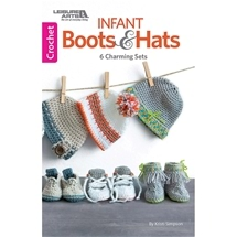 Crochet Infant Boots and Hats