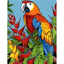 Parrot Tapestry Canvas