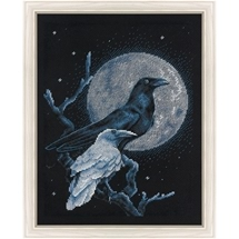 Birds In Moonlight