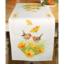 Robins & Flowers Runner