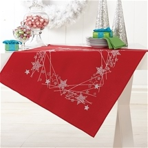 Silver Stars Table Topper