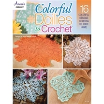 Colourful Doilies To Crochet