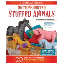 Button-Jointed Stuffed Animals