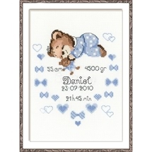 Birth Announcements - Blue