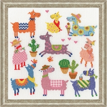 Slightly Dotty Llamas