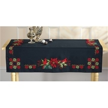 Poinsettia Table Cloth