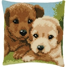 Puppies Cushion