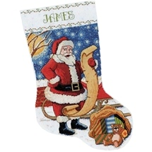 Santa's List Stocking