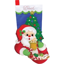 Cocoa & Cookies Stocking