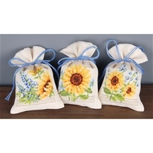 Floral Sachets - Sunflowers