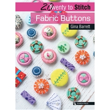 Twenty to Stitch Fabric Buttons
