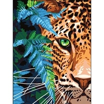 Leopard Tapestry Canvas