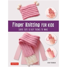 Finger Knitting For Kids