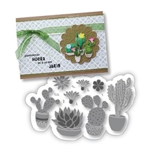 Joy Die Sets - Blooming Cactus
