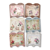 3D Greeting Card Kit - Shabby Chic