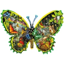 Butterfly Migration 1000 pc Shaped