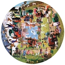 Four Seasons On The Green 1000 pc Round