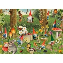 Gnomes At The Forest Edge 1000 pc