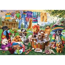 Laundry Day Rascals 1000 pieces