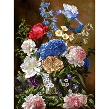 Bouquet In Blue 1000 pc