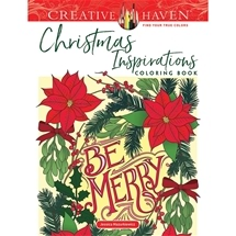 Christmas Inspirations Adult Colouring Book
