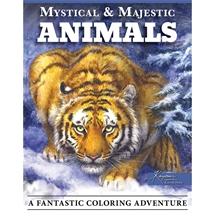 Mystical & Magestic Animals Colouring