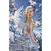 Angel and Magnolias 1000 pc