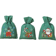 Christmas Sachets Green