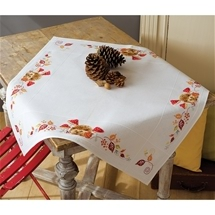 Hedgehogs & Toadstools Tablecloth