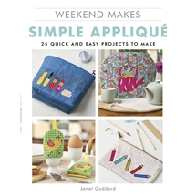 Weekend Makes Simple Applique