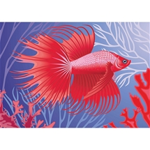 Exotic Fish Diamond Painting