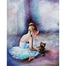 Ballerina The First Steps Diamond Painting