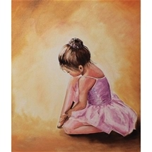 Ballerina Baby Diamond Painting