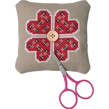 Hearts Pincushion