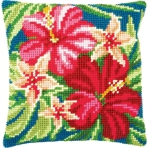 Botanical Flowers Cushion