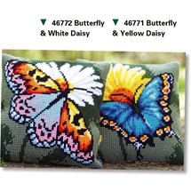 Butterfly and Daisy Cushions