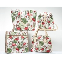 Flamingo Tapestry Bags
