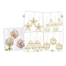 Himmeli Geometric Ornaments