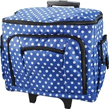 Polka Dot Sewing Machine Trolley Bags