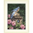 Garden Bluebirds Paint By Numbers_49717_0