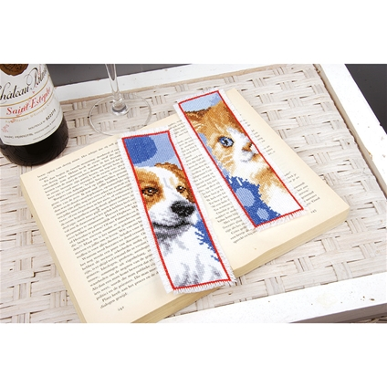 Dog and Cat Bookmarks