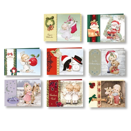 Christmas Cards with Transparent Paper