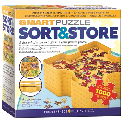 Smart Puzzle Sorting Trays