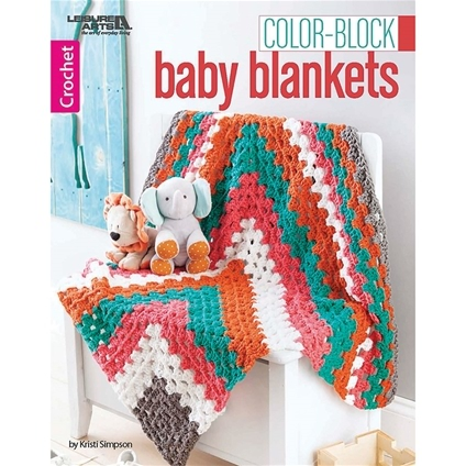 Colour-Block Baby Blankets