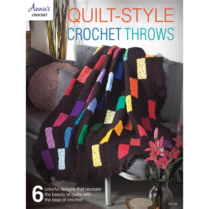 Quilt-Style Crochet Throws
