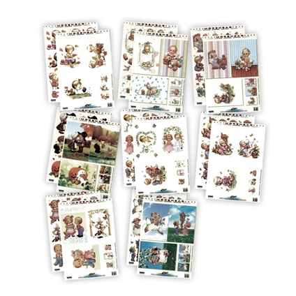 3D Decoupage Kit - Morehead Children