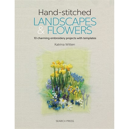 Hand-Stitched Landscapes & Flowers
