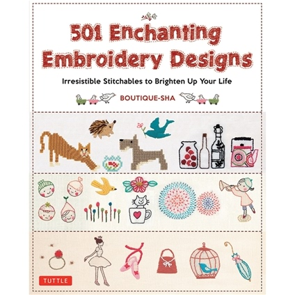 501 Enchanting Embroidery Designs