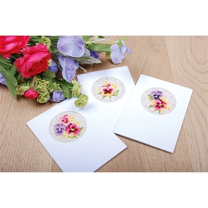 Pansies Cards