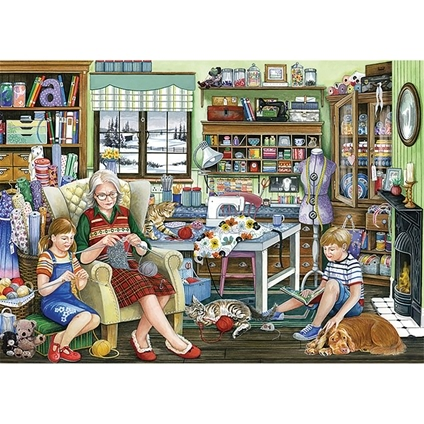 Granny's Sewing Room 1000 pc